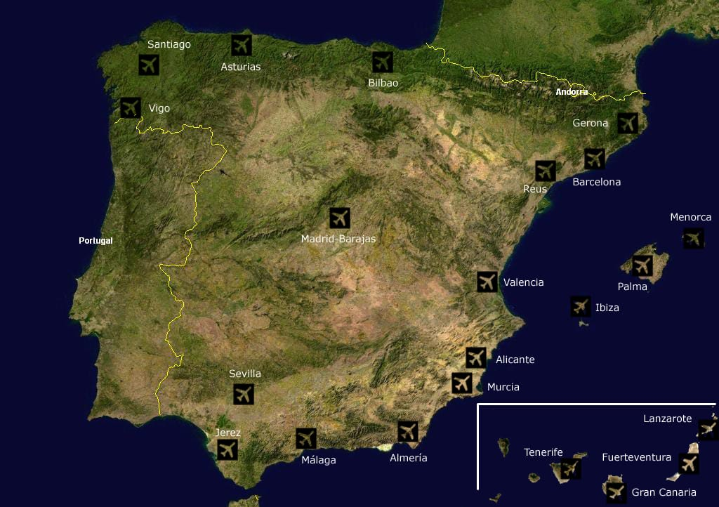 Airports-spain
