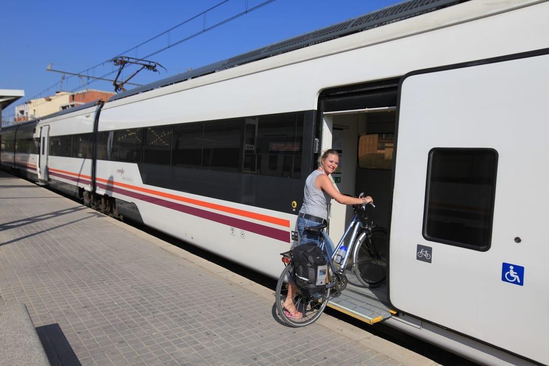Fietsvervoer Spanje