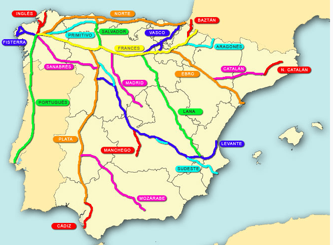 route Santiago