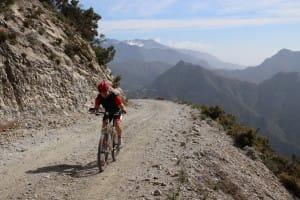 In de bergen bij Competa