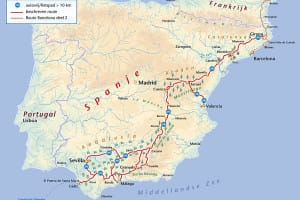 Andalusie route Benjaminse