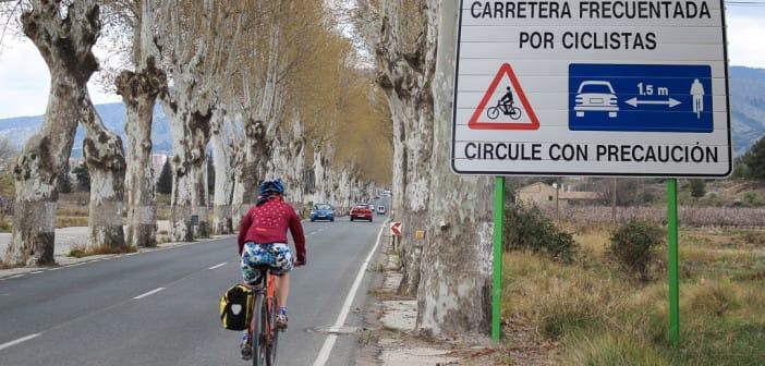verkeersregels fietsers Spanje