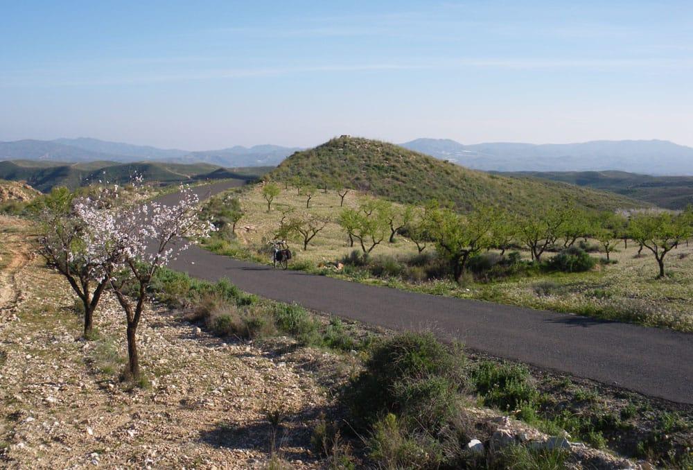 fietsen-spanje-weg-naar-Taberno