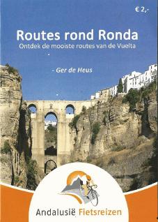 Mini routeboekje met zes routes rond Ronda.