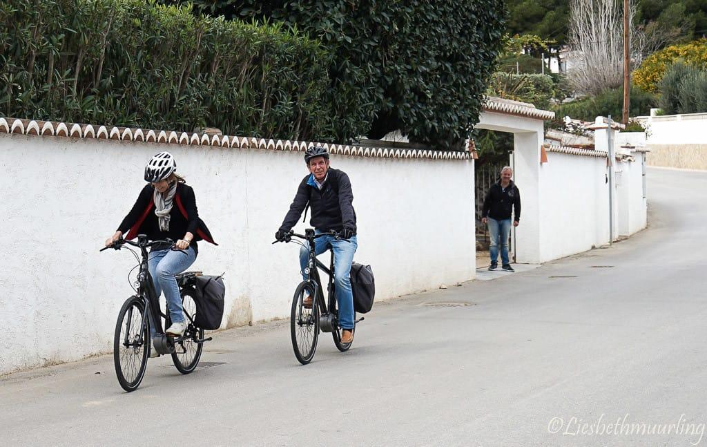 Elektrische fiets Moraira, Costa Blanca