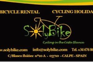 fiets huren Calpe