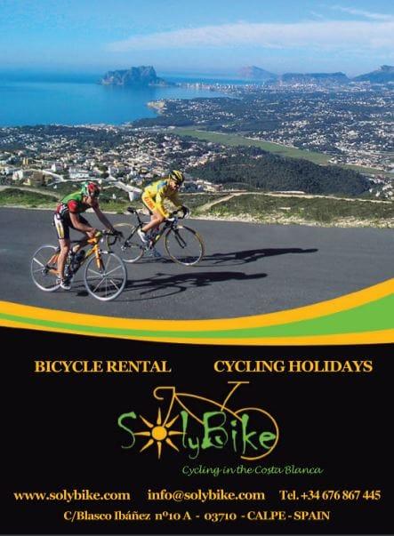 fietsverhuur Calpe