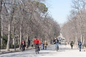 madrid fiets