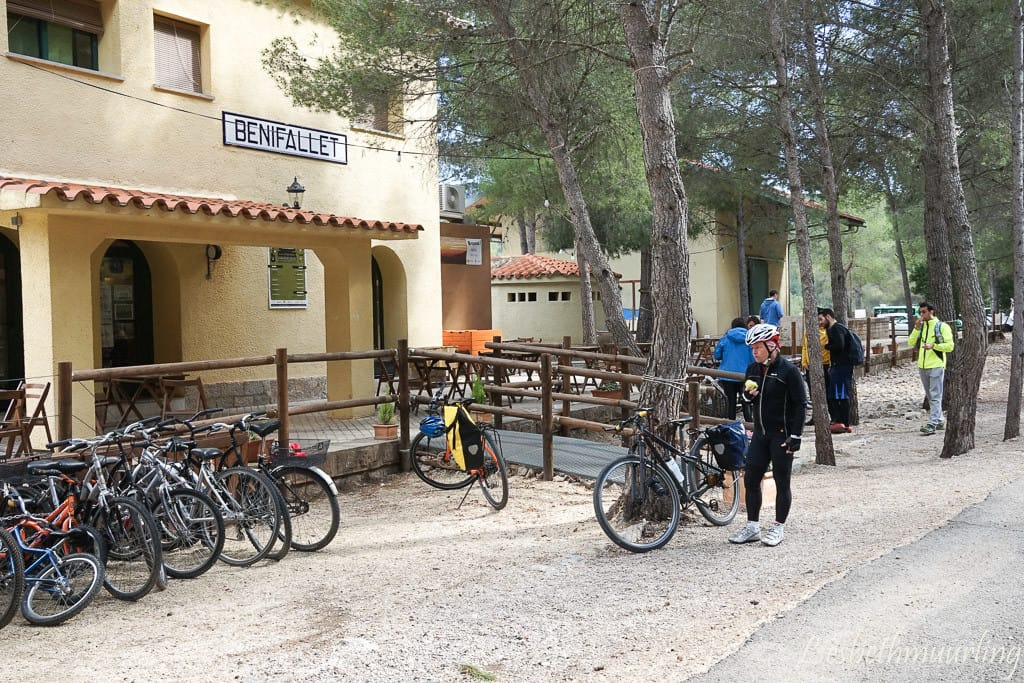 fietsen via verde Ebro