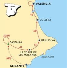 Fietsvakantie Alicante Valencia
