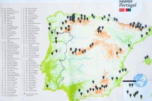 beklimmingen Spanje