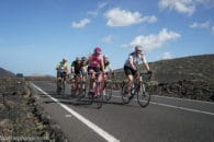 fietsen groep Lanzarote