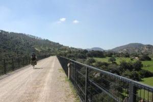 via verde de la sierra fietsen