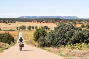 Via de la plata fiets
