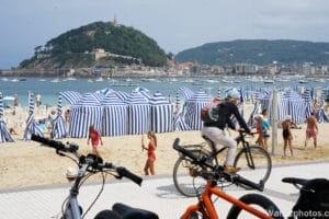 San Sebastian fietsen