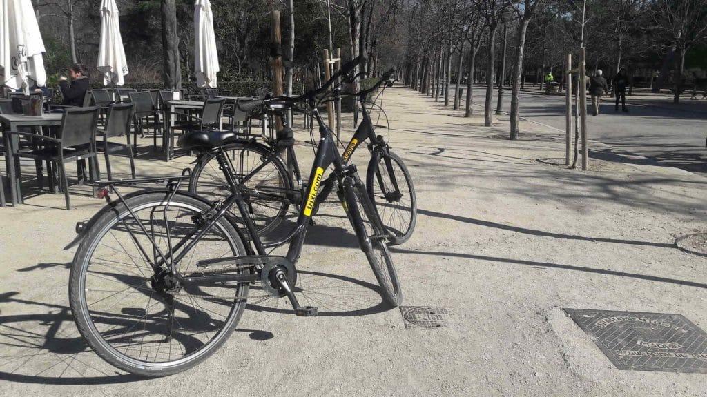 huren fiets Madrid
