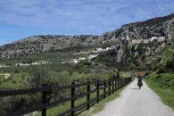 fietstocht via verde