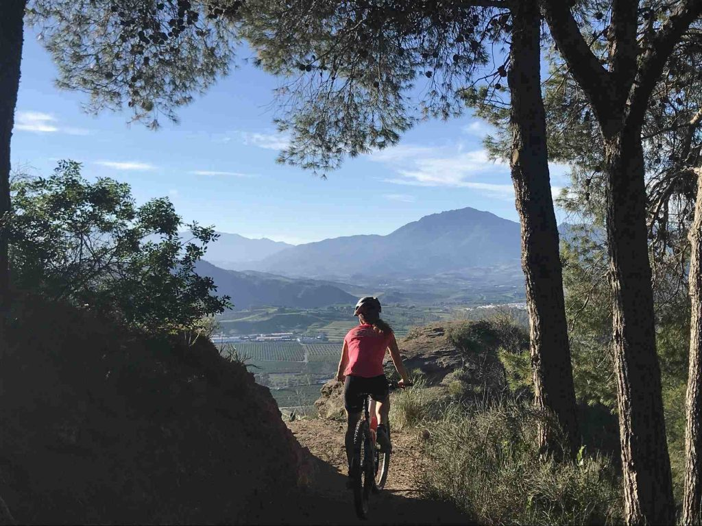 mountainbike andalusie